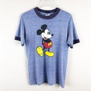 Vintage Disney | Mickey Mouse Ringer Tee